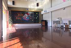 おがわ幼稚園のホール
