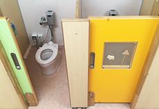おがわ幼稚園のトイレ